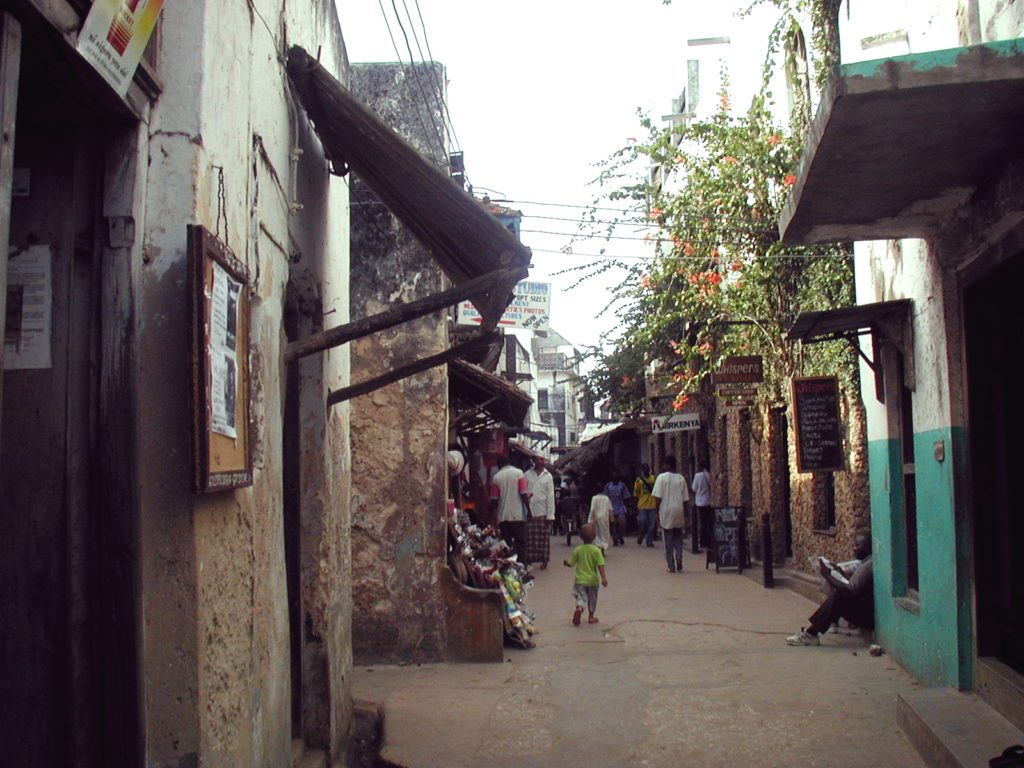 Street Picture from Lamu