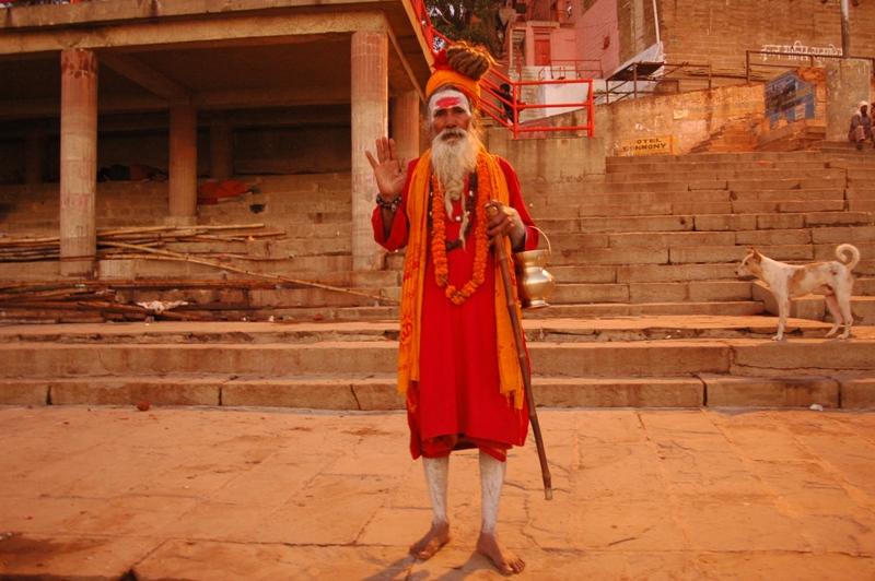 Varanasi - Priest