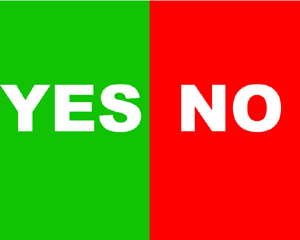 Yes or No - Kenya voting in a referendum