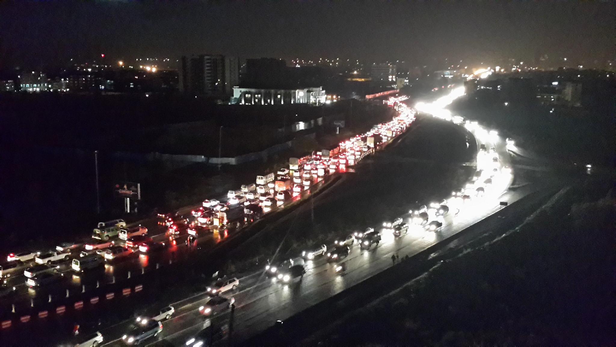 Traffic Jam on Mombasa Road