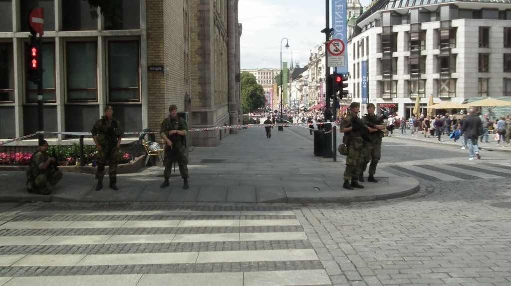 Oslo – the day after the attack!
