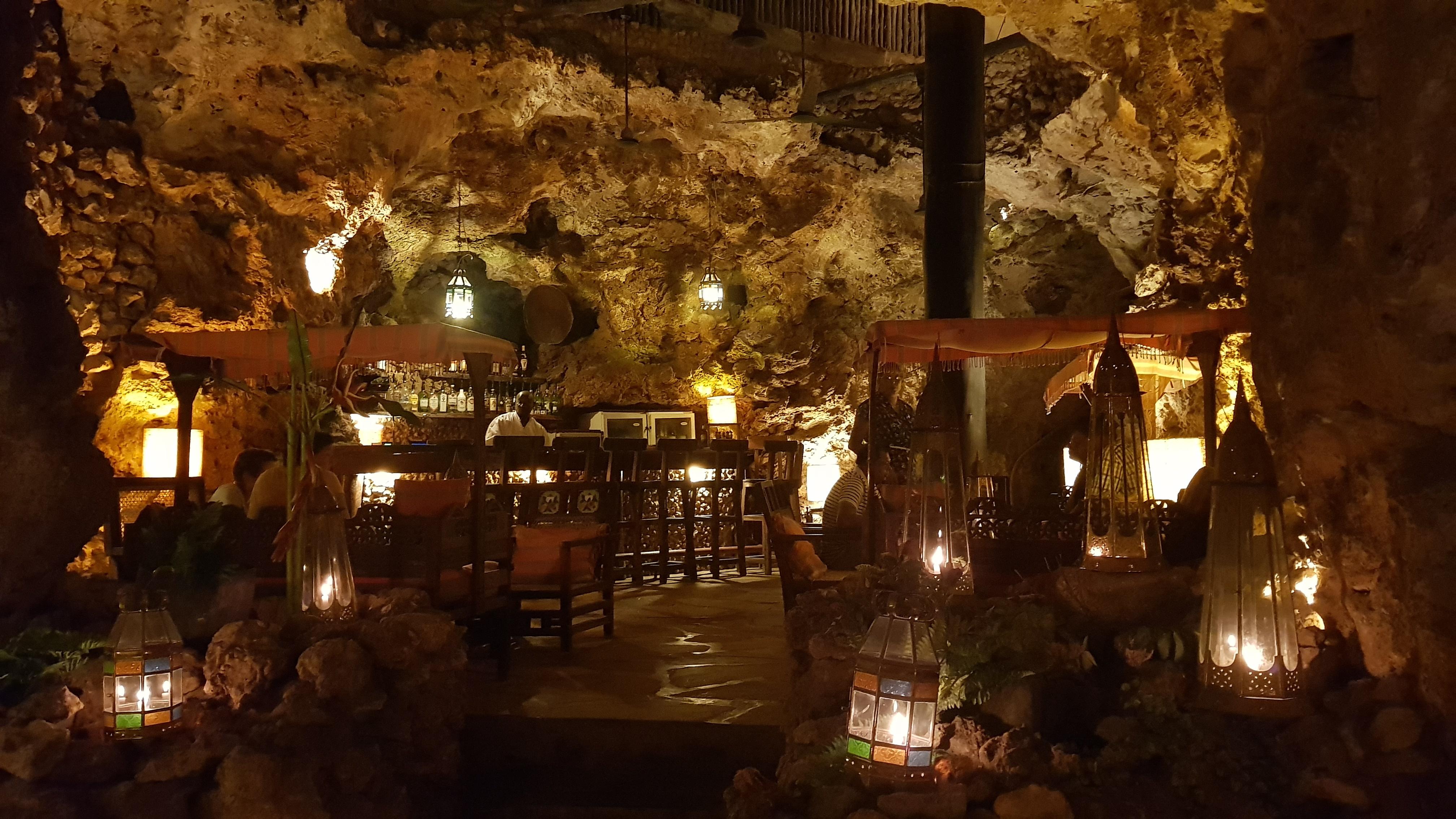 Ali Barbour's Cave Restaurant Diani