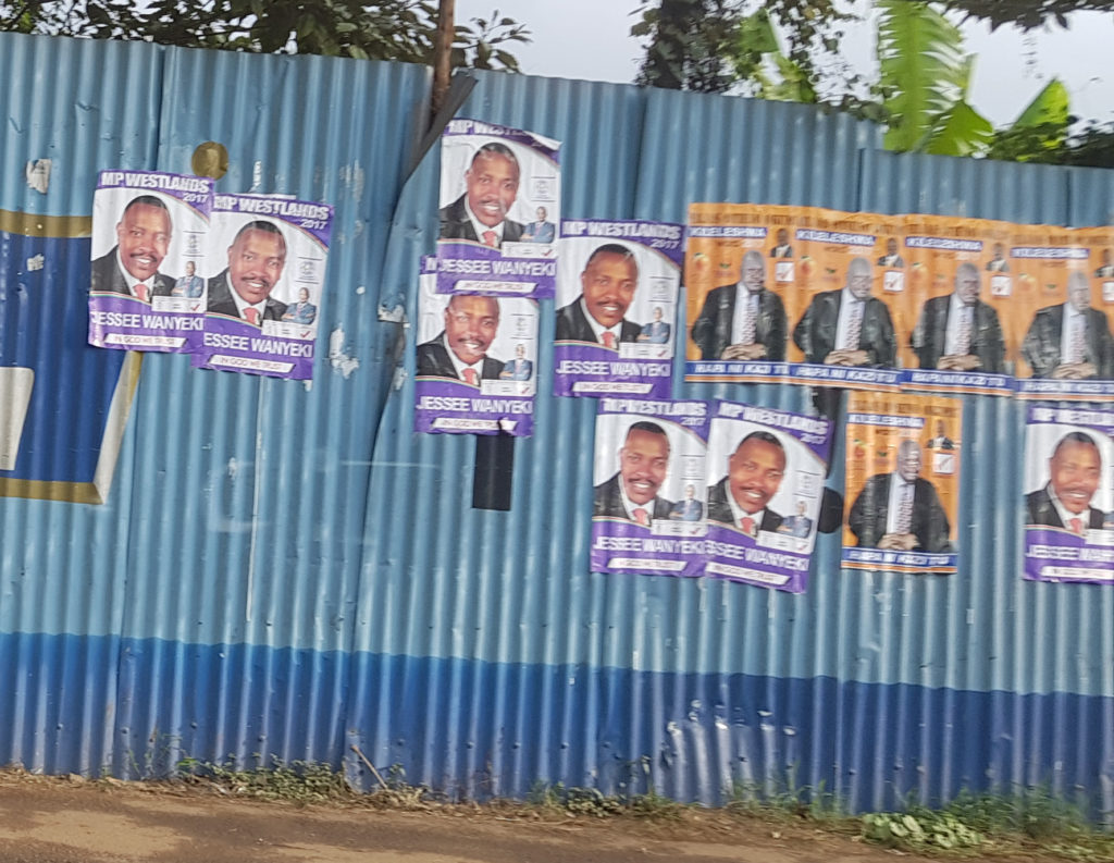 Kenya Election 2017 - Campaign posters