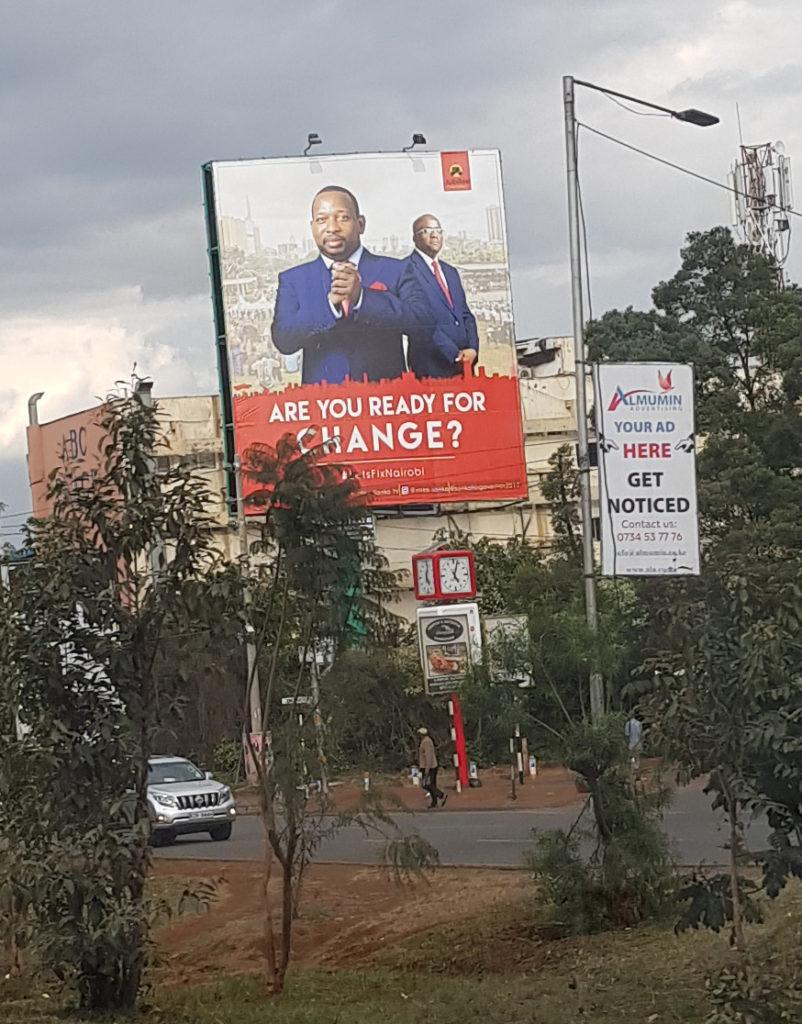 Kenya election 2017: Sonko + Igathe