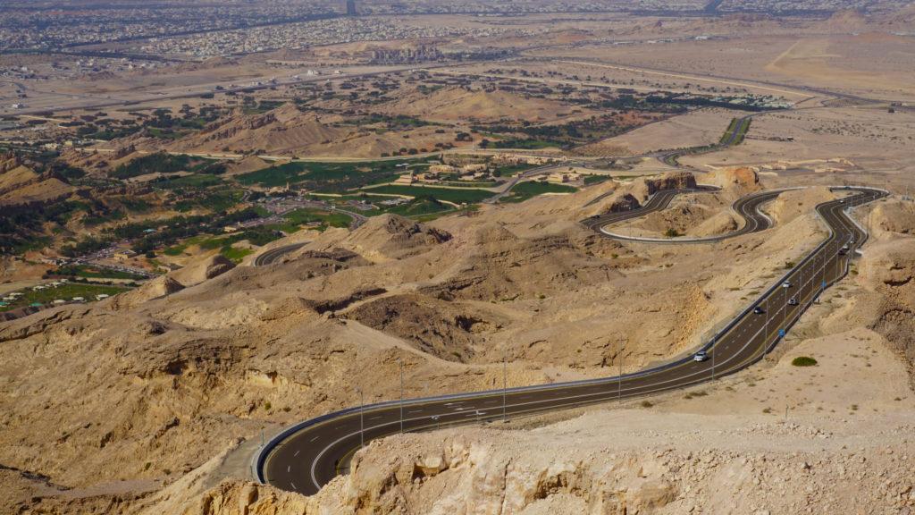 Jebel Hafeet and Green Mubazzarah