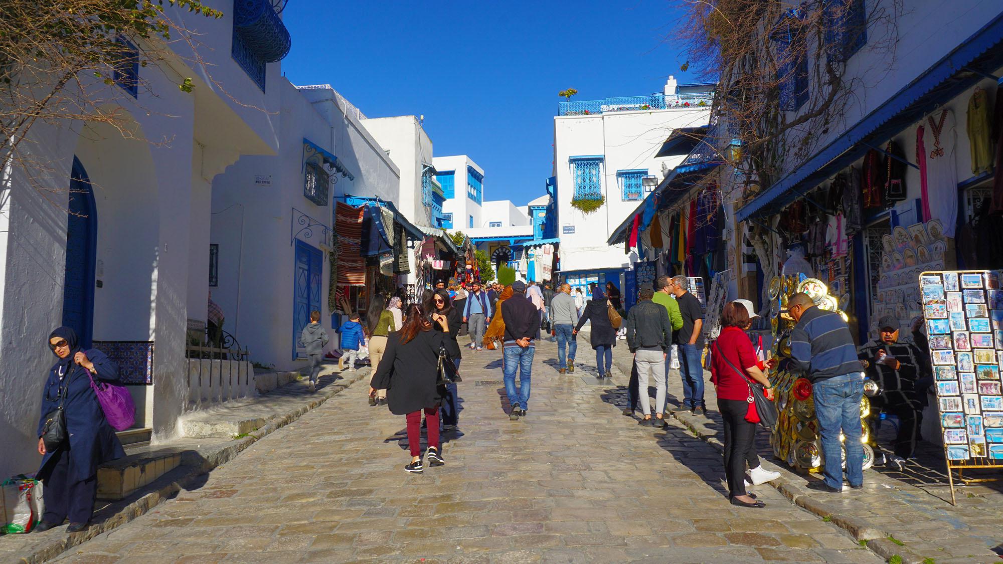 Sidi Bou Said, in Tunis