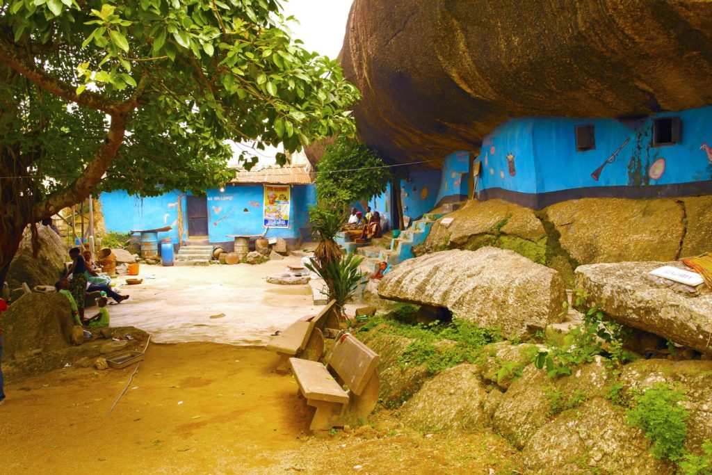 The Shrine at Olumo Rock in Abeokuta, Ogun State, Nigeria