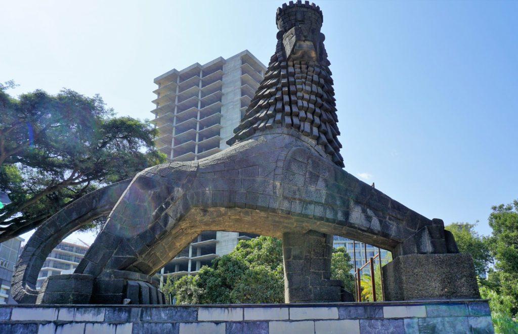 Addis Ababa - Black Lion of Judah