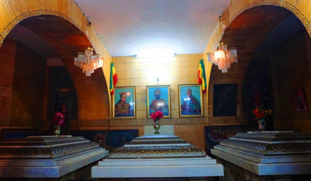 Addis Ababa Emperor Menelik II Tomb