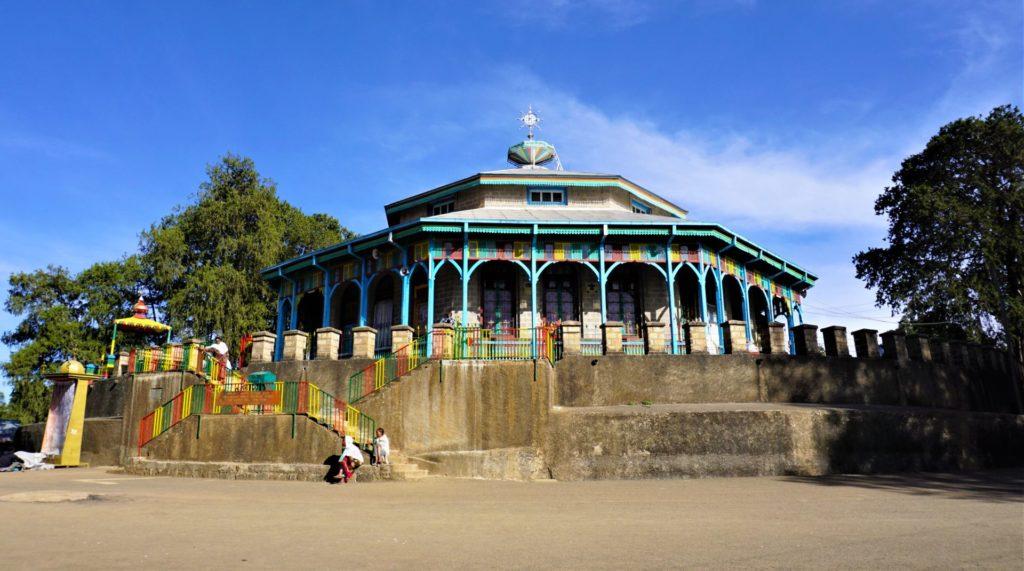 Addis Ababa - Maryam Church on Entoto Hill