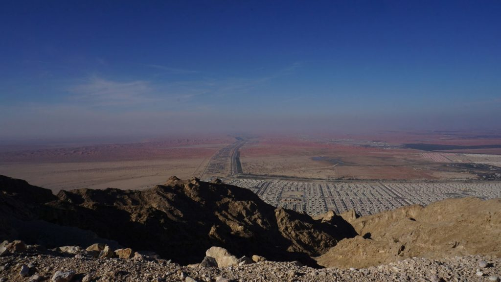 Al Ain - Daytime view from Jebel Hafeet