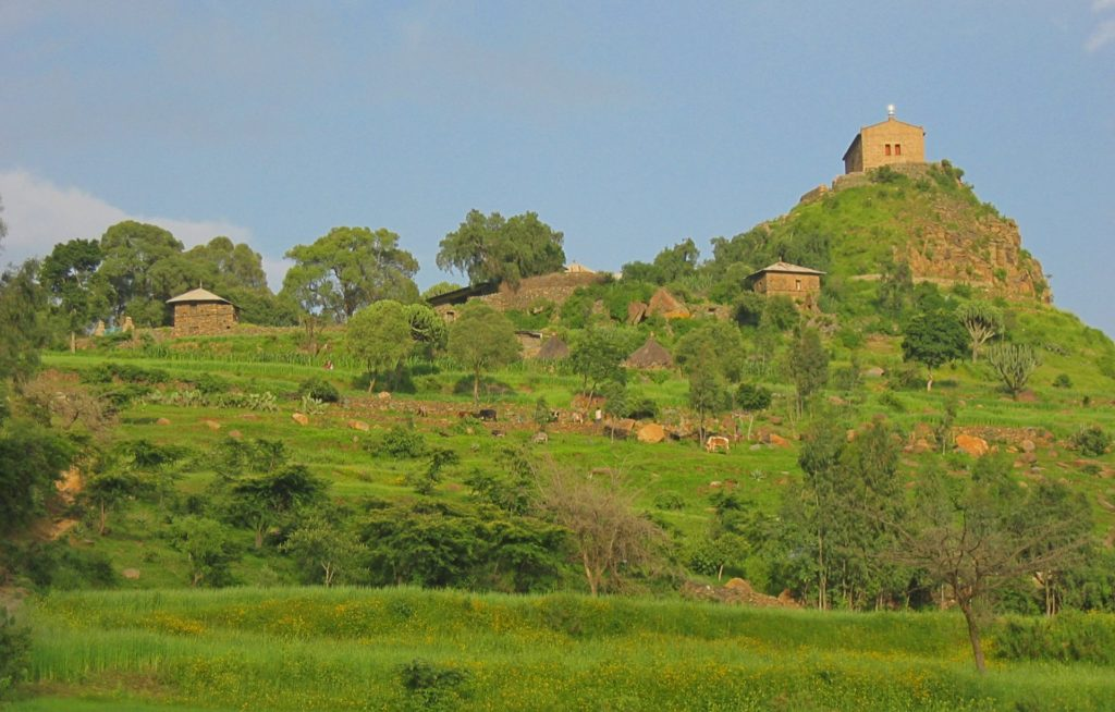 Axum - Pentalewon Monastery