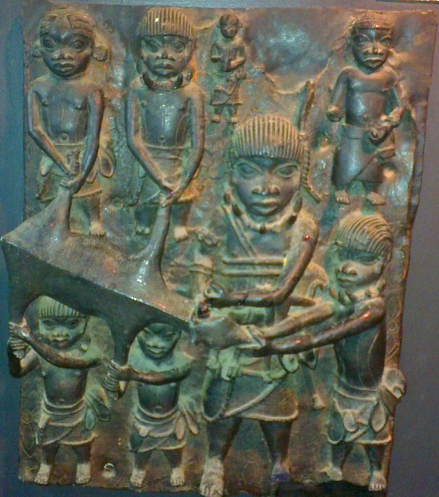 Bronze Art in Benin City, Nigeria