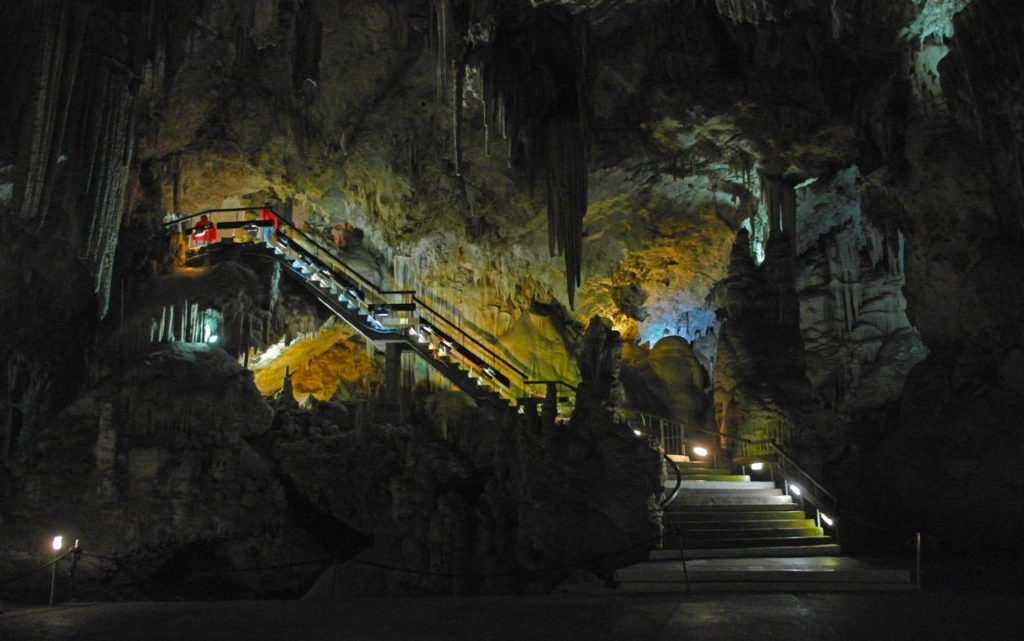 Cuevas de Nerja - a popular local attraction