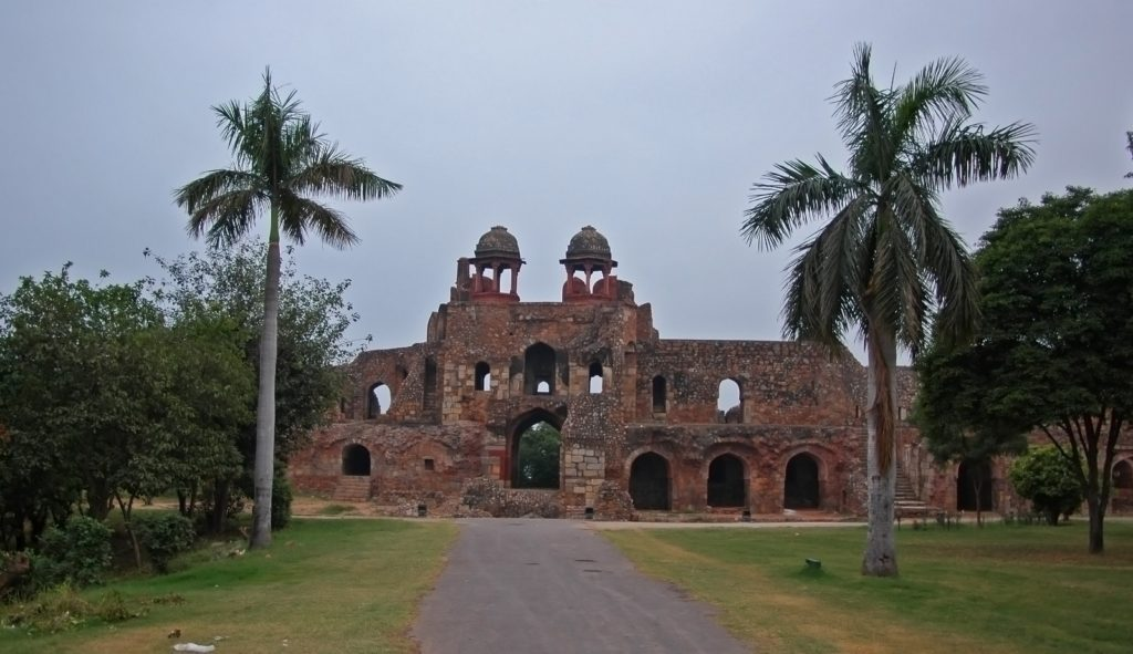The Purana Qila - the oldest fortress of Delhi.  At least 2500 years old