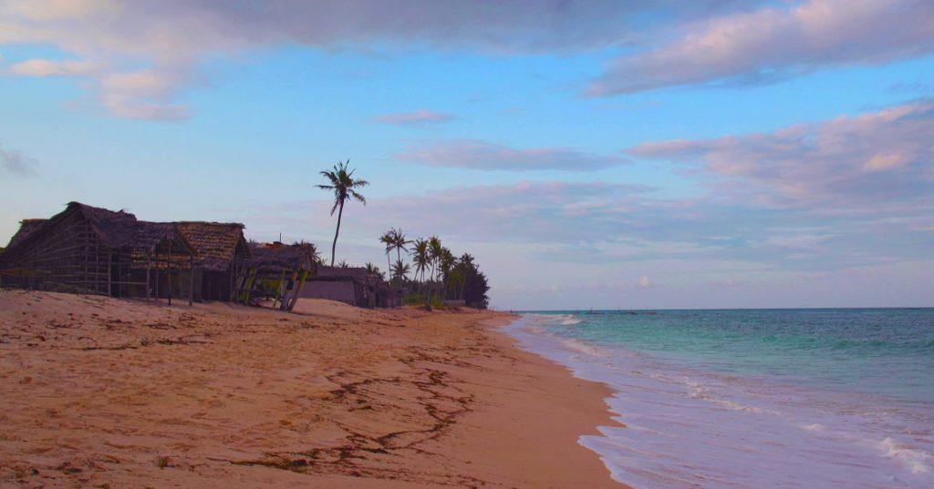 Evening on Diani Beach