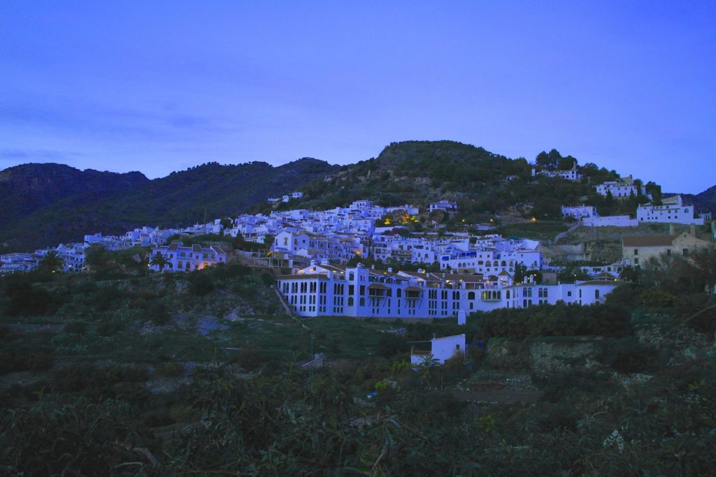 Early evnening in Frigiliana