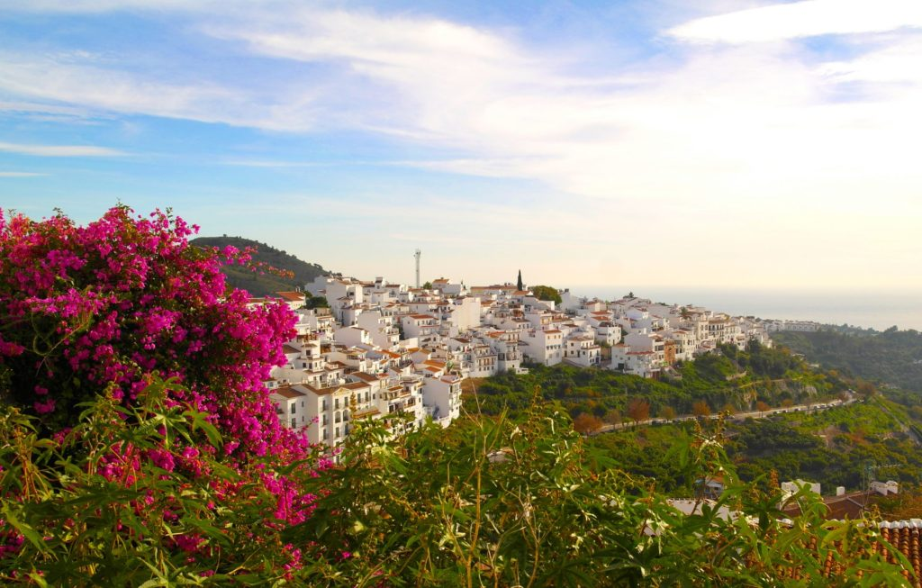 Frigiliana - an incredibly idyllic little town in the mountains above Nerja, in Andalucia, Spain
