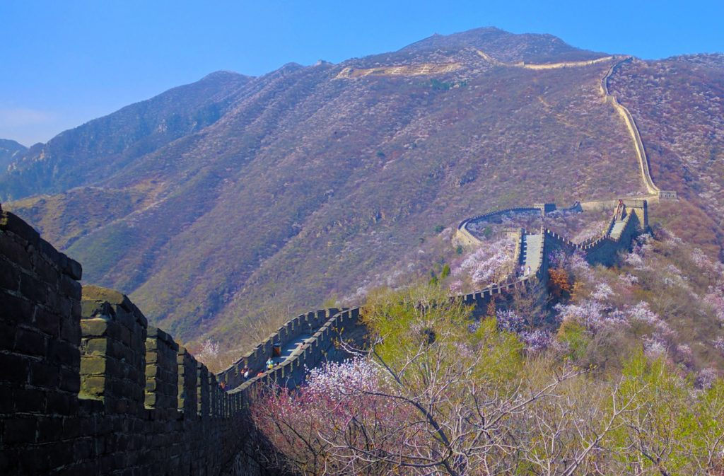 The Great Wall of China, in Mutianyu