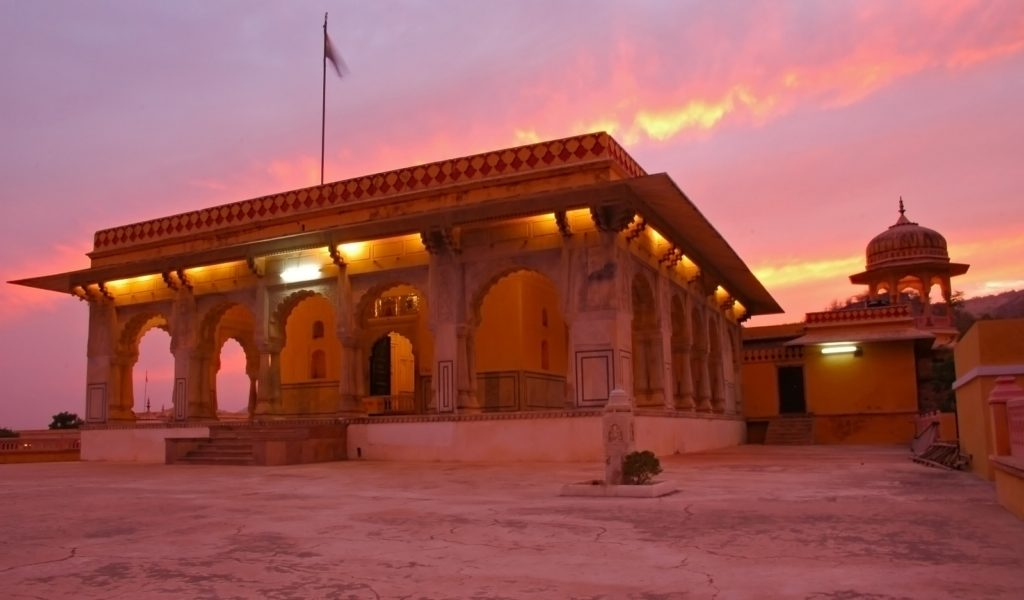 The Krishna Temple in Jaipur