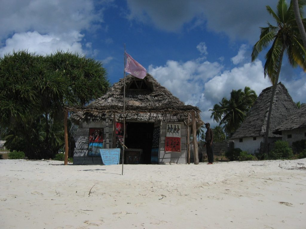 Jambiani Beach Souvenir Shop