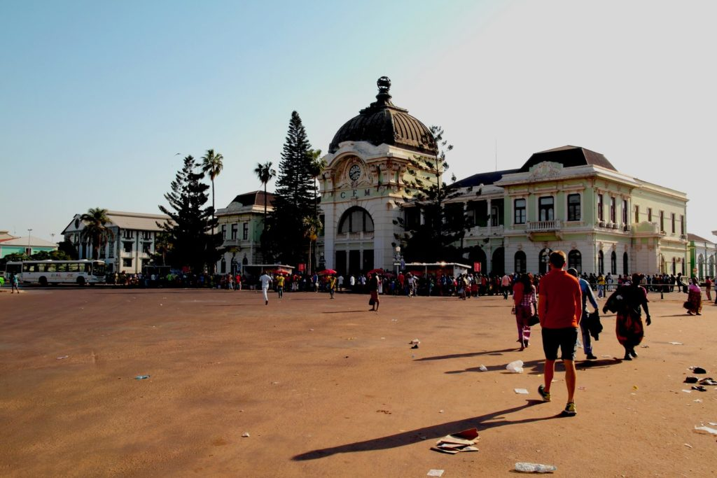 Maputo, Mozambique - Railway Station