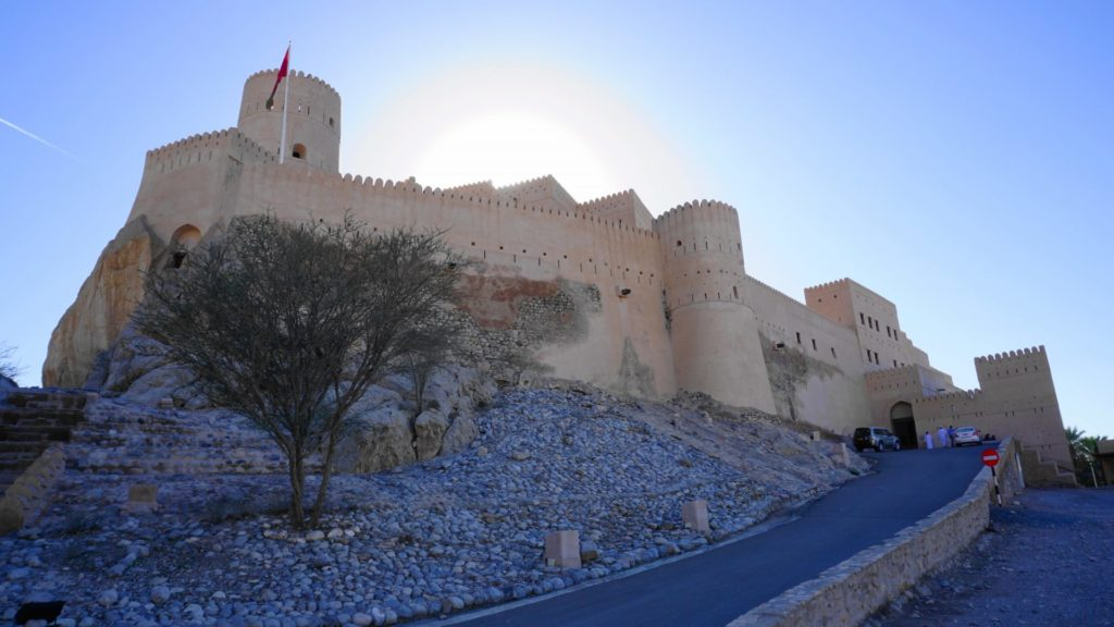 Muscat Nakhal Fort (sunset)