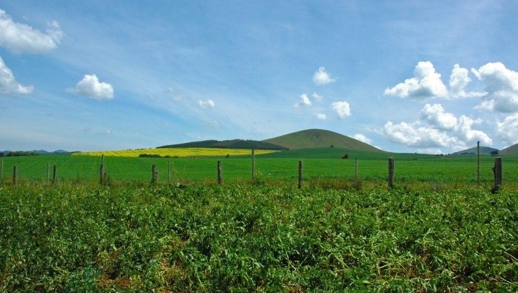 Scenery north of Mount Kenya