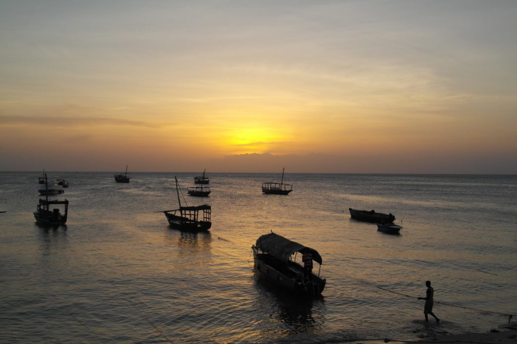 Stone Town - Sunset