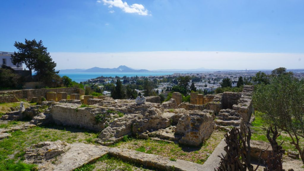 Carthage - the ruins of a former Mediterranean superpower