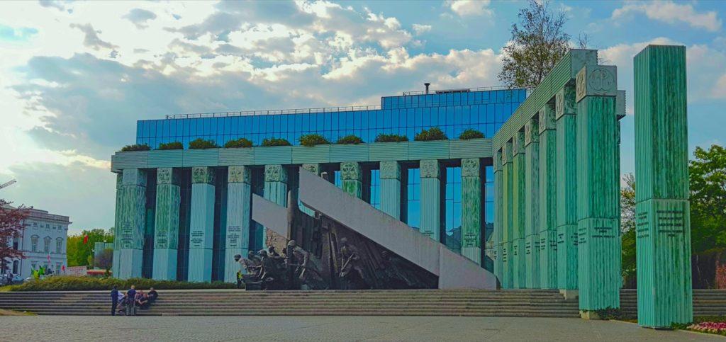 Warsaw Krasinski Square Uprising Memorial