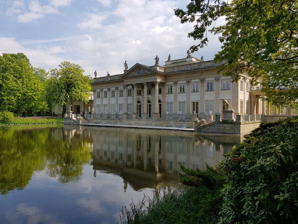 Warsaw Lazienki Palace