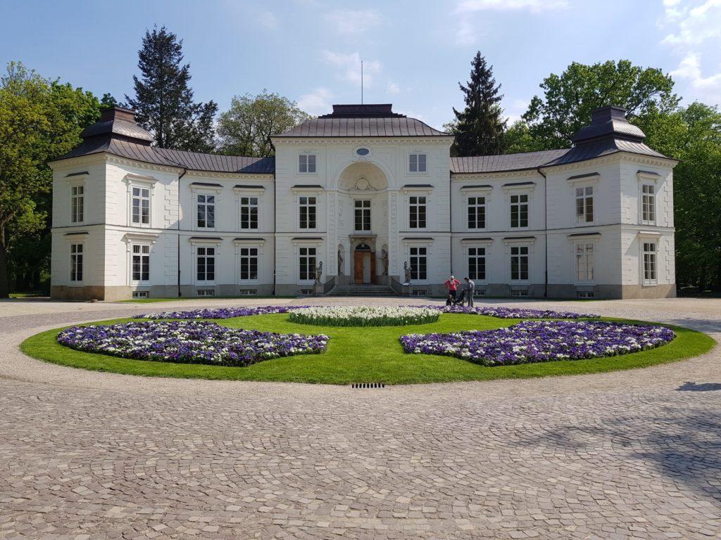 Warsaw Lazienki Park Myslewicki Palace
