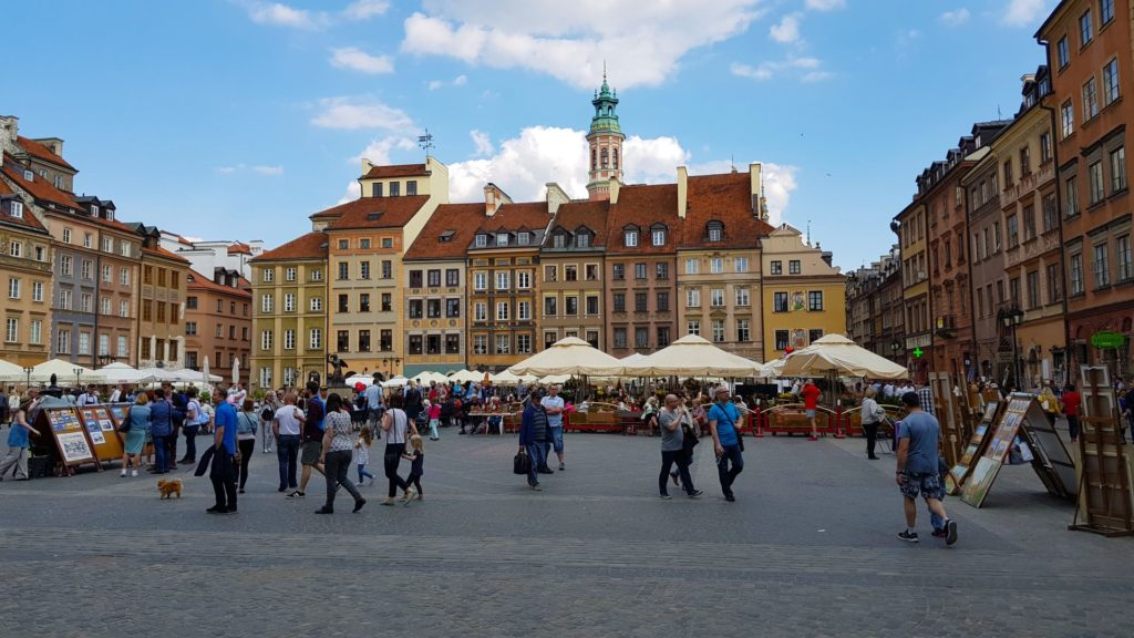 Warsaw Old Town Market