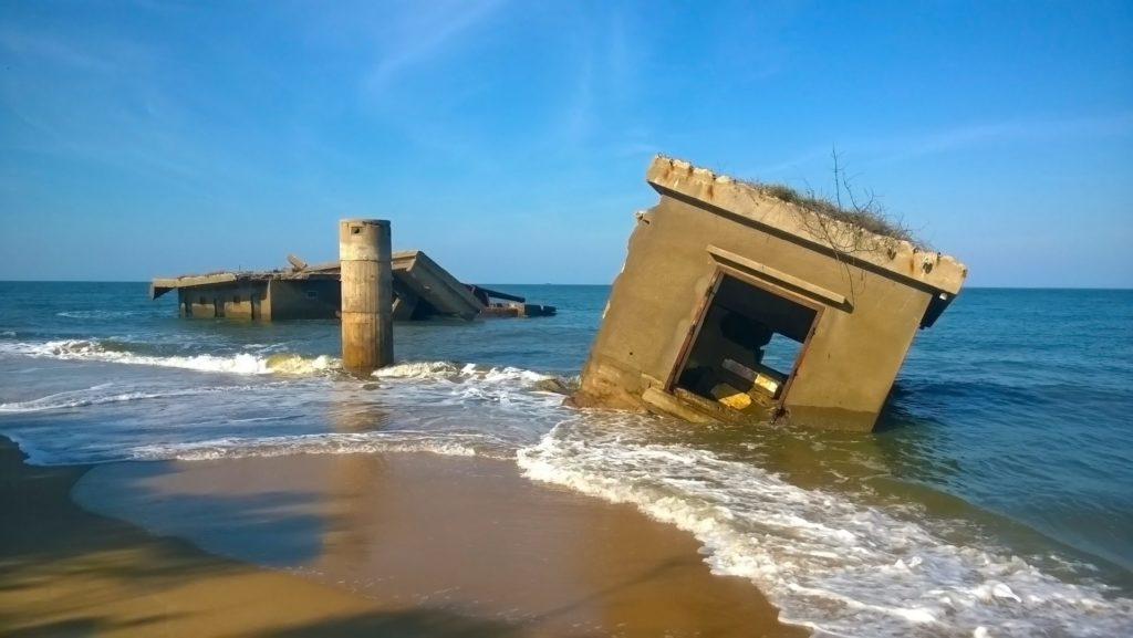Ruins of a Portuguese Fort on Xefina Island, Mozambique