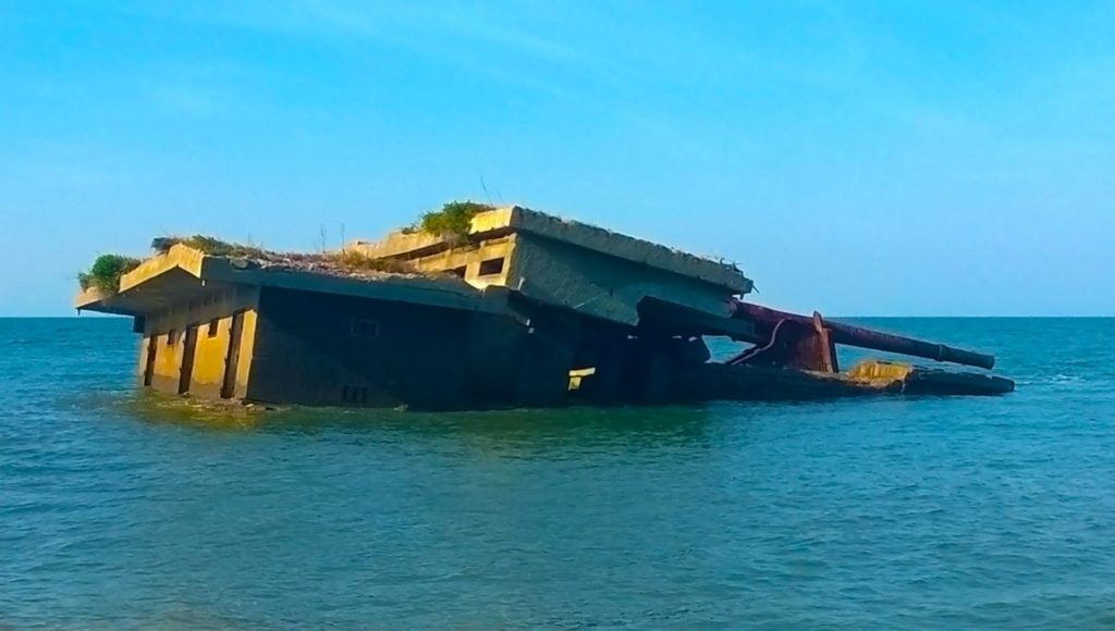 Xefina Island, Mozambique - Ruins of a Portuguese Fort