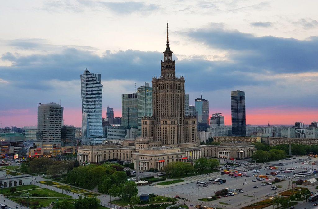 Cultural Palace, Warsaw, Poland