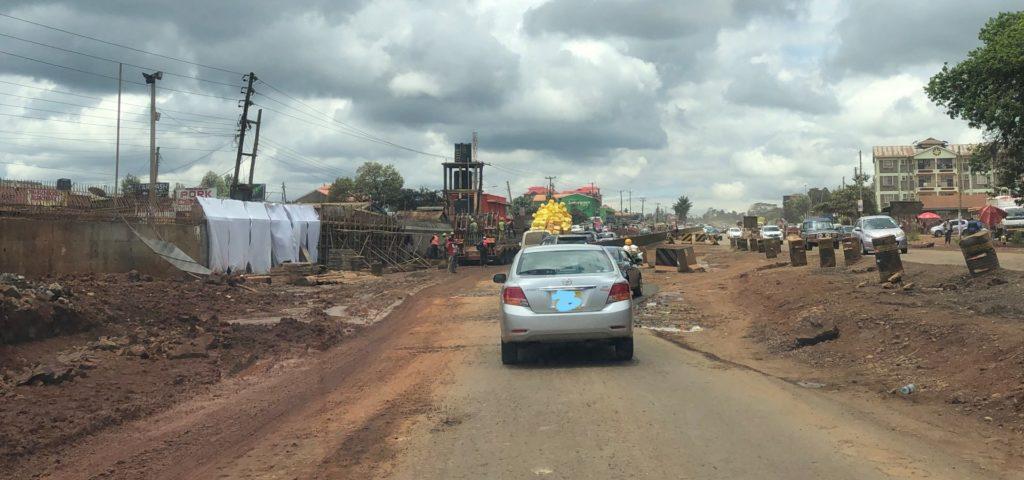 Nairobi, a city of endless roadworks