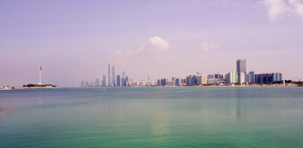 The Corniche of Abu Dhabi