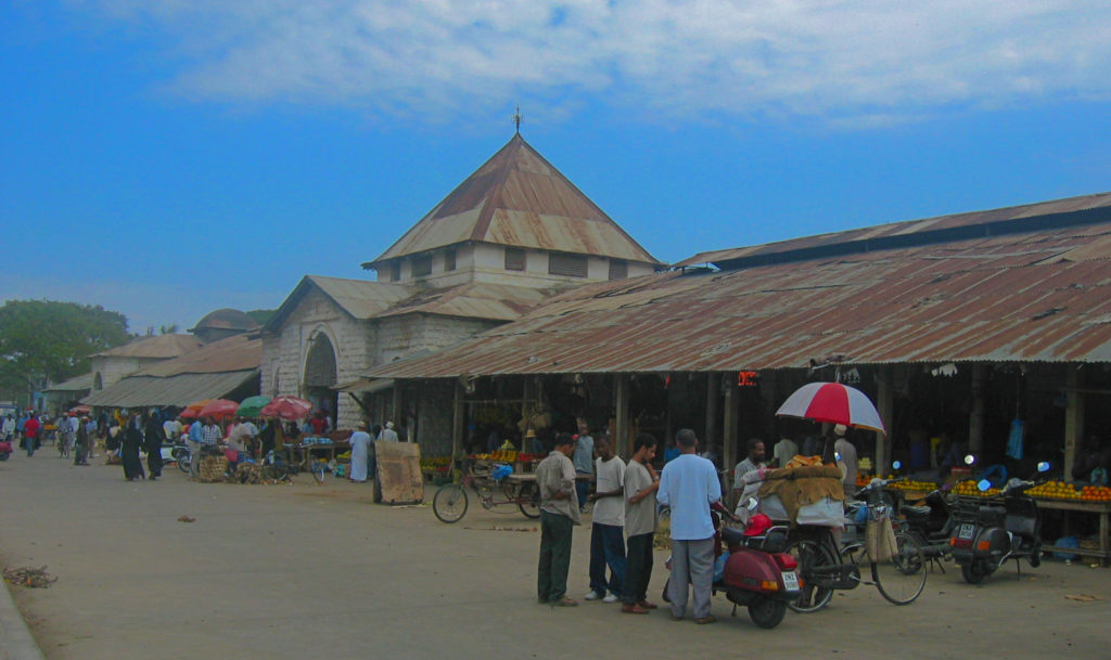 Darjani Market, Zanzibar – The Building and the Exterior
