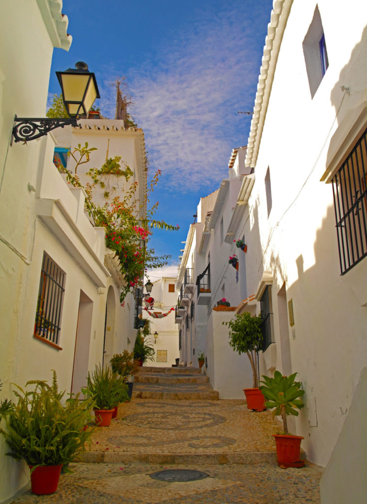 Frigiliana - famous for its steep, narrow and incredibly picturesque streets and alleys
