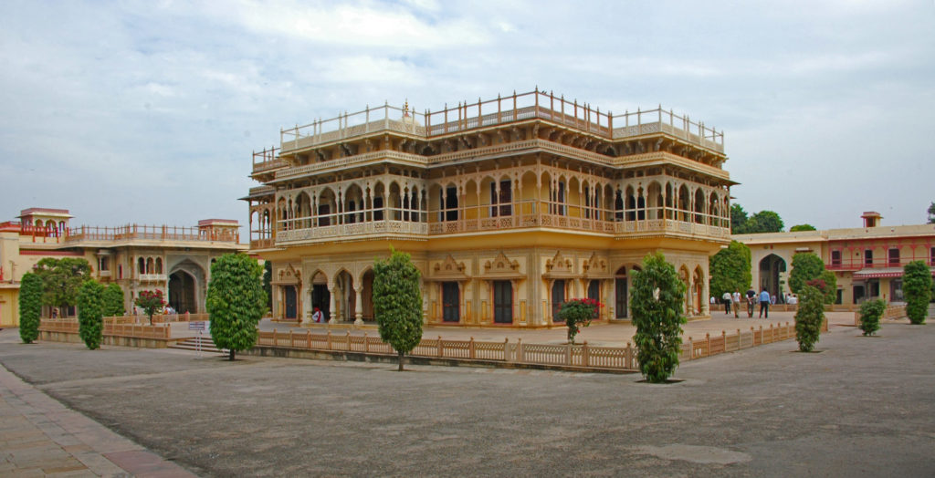 Jaipur – The City Palace Inner Court