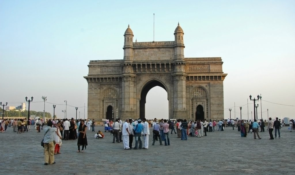 The Gateway of India in Mumbai - Built to commemorate the visit of King George V in 1911