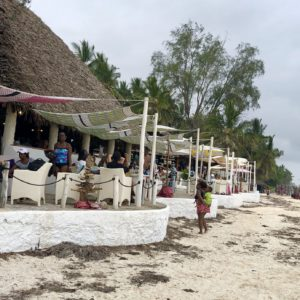 Nomad Restaurant in Diani
