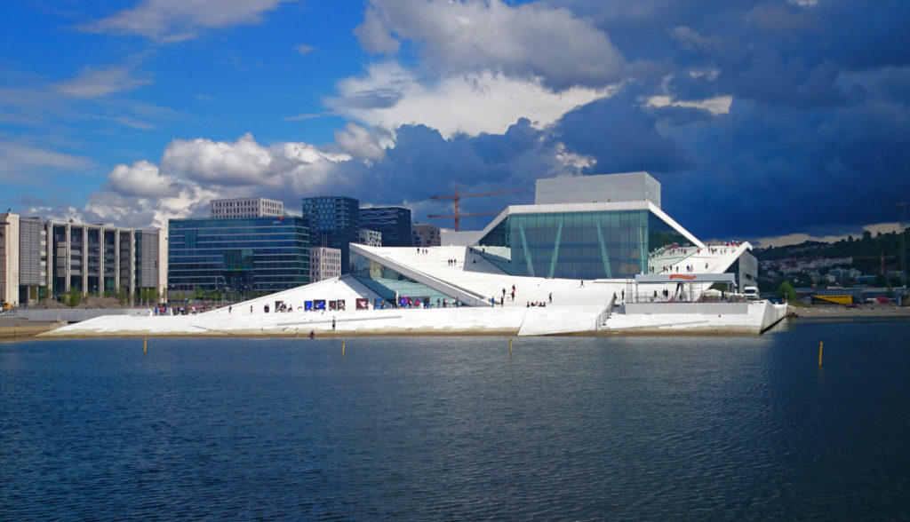 Norway – The Oslo Opera in 2014 - the surroundings have since changed dramatically