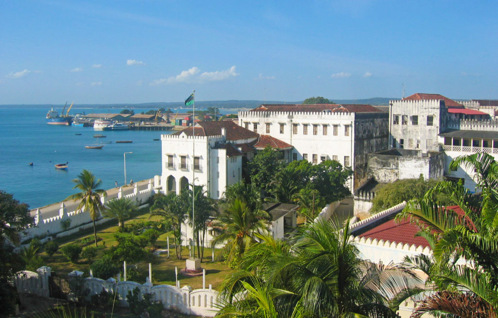 Stone Town, Zanzibar – View from the Sultan's Palace