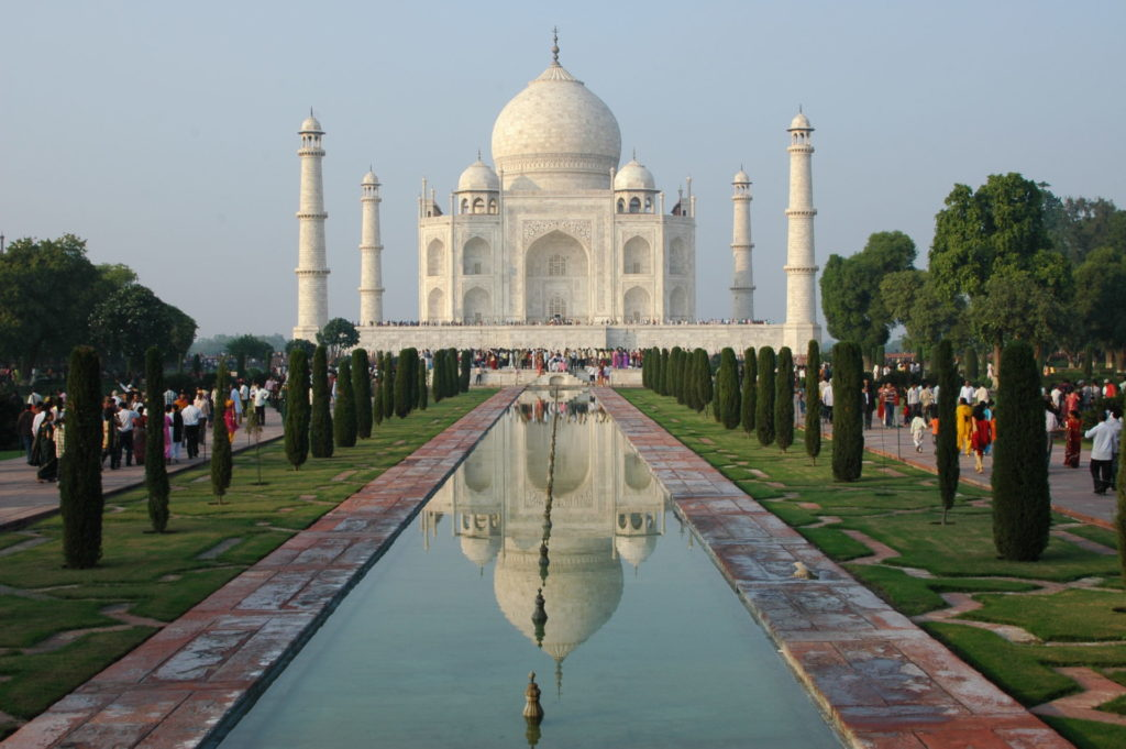 The Taj Mahal - The world's most famous building. Needs no introduction
