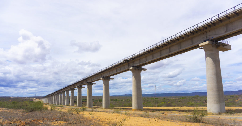 The Standard Gauge Railway (SGR), aka Madaraka Express through Tsavo