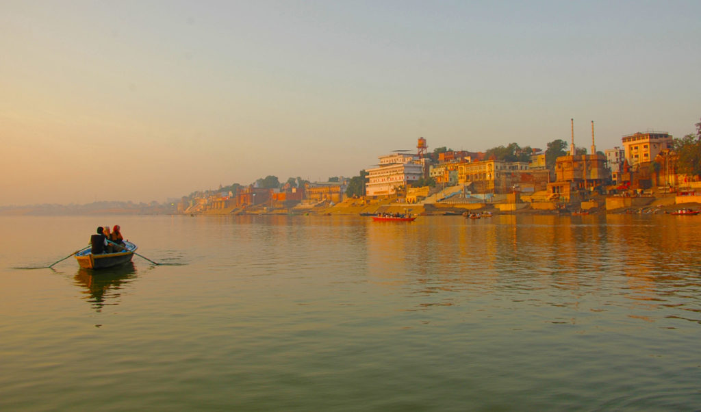 Varanasi - Sunrise on the Ganga River
