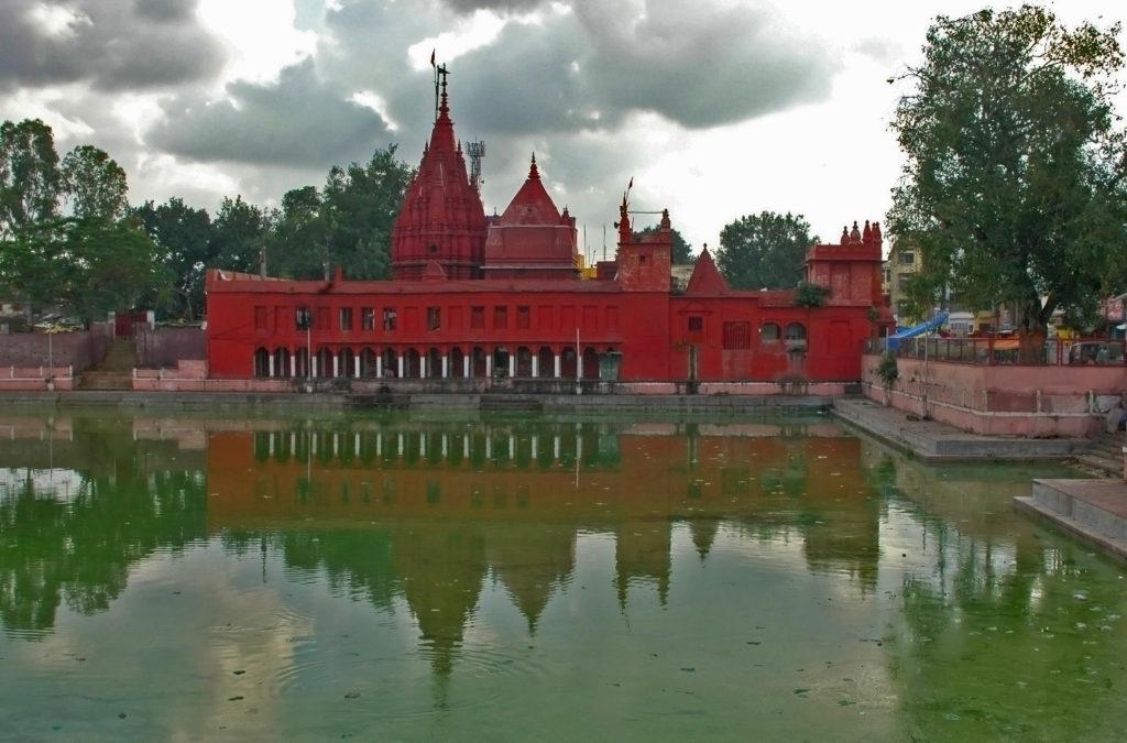 Varanasi - The Durga Mandir